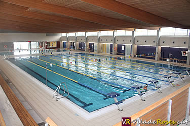 Tall del subministrament el ctric a la piscina de roses for Piscina municipal girona