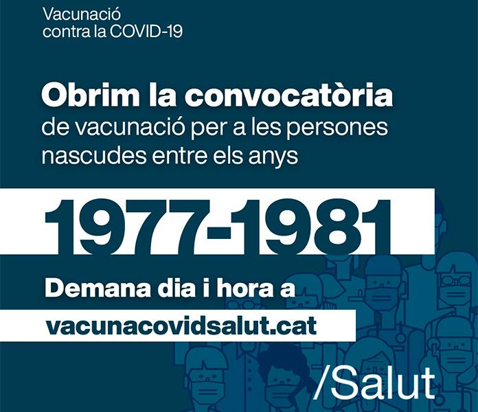 Vacunació Covid-19 ABS de Roses