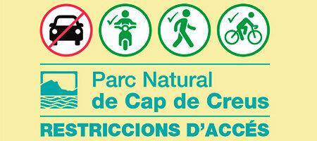 Restricció d'accés al Parc Natural del Cap de Creus